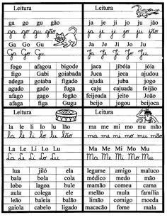 Dulcy Jarina: Atividades para infantis: Família silábicas – Fichas de Leitura! para imprimir