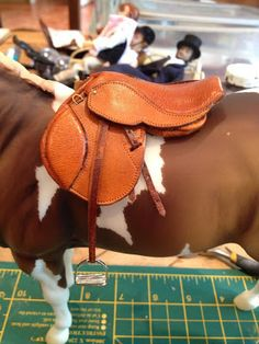 Braymere Custom Saddlery: Saddles with Sophie, part two