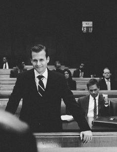 Harvey Specter.  Season one.