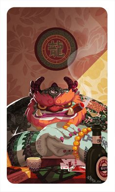 Chinese Gangster by McIdea.deviantart.com on @deviantART