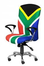 Locally designe range of office chairs which can be upholstered in material of your choice with a variety of arm rests