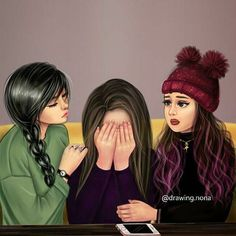 Me and my bff arias and abegail Girly M, Best Friend Drawings, Girly Drawings, Best Friend Sketches, Friend Cartoon, Girl Cartoon, Arte Monster High, Shooting Photo Amis, Friends Sketch