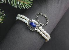 Jagdschmuck Armband Marianne Lapis - Schmuck Steiner Schmuck Online Shop, Armband, Gems, Handmade, Silver