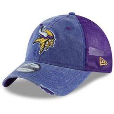 promo code 0ec3b e5ca3 Men s Minnesota Vikings New Era Purple Tonal Washed 2 Trucker 9TWENTY  Adjustable Hat, Your Price   23.99