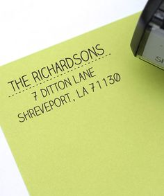 Another great find on #zulily! Simple & Sassy Personalized Self-Inking Stamp #zulilyfinds