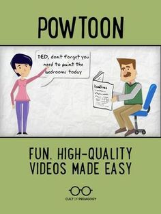 Powtoon: Fun, High-Quality Videos Made Easy - Powtoon is an online presentation tool that enables you and your students to create professional-quality animated videos in just minutes. All you need is an internet connection, a microphone, and a desktop or Instructional Coaching, Instructional Strategies, Instructional Technology, Technology Tools, Educational Technology, Ap 12, Cult Of Pedagogy, Middle School Music, Digital Literacy