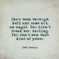 Domestic violence survivor's quote                              …