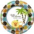 King Of The Jungle Baby Shower Lunch Plates 8ct