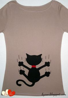 By Ro: CAMISETAS PATCHWORK - Animales -