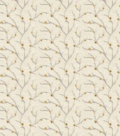 Eaton Square Sheer Fabric-Remedy/Goldleaf