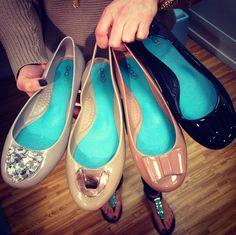Ashton House shows off some of their new Oka-B ballet flats and slingbacks!  #OkaB #Shoes #BalletFlats #Slingbacks #Spring15 #Fashion