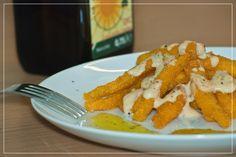 Leckere Beilage oder knuspriger Snack - Polenta- Pommes, in Olivenöl Gold der Maremma frittiert - ohne Frittiergestank in der Wohnung oder an den Händen #frantoiosanluigi, #olivenölitalien, #polenta, #pommes, #snack, #gorgonzola, #sauce, #käse, #polentapommes