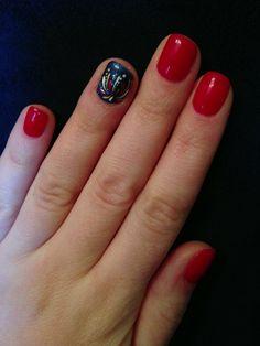Firecracker fingernails