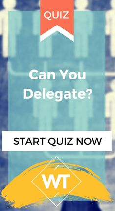 Being able to delegate is crucial for business owners and managers, and while most of us know the mechanics behind delegating, some of us still can't do it. Do you think you can delegate, but are still too busy with. Life Quizzes, Business Entrepreneur, Make More Money, Starting A Business, Getting Things Done, Online Business, Life Is Good, Advice, Canning