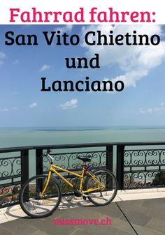 An der Adriaküste der italienischen Region Abruzzen findest du kleinere und grössere Ortschaften, die du gut mit dem Fahrrad erreichst. San Vito Chietino bietet dir ein umwerfendes Panorama über die Adria. Ab aufs Fahrrad! #Italien #fahrrad