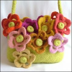 a felted purse