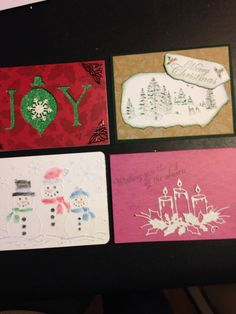 Christmas cards I sold