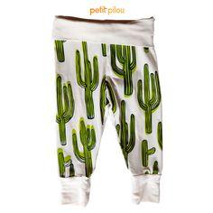 petitpilou - SOS Prickly Cactus Baby Pants