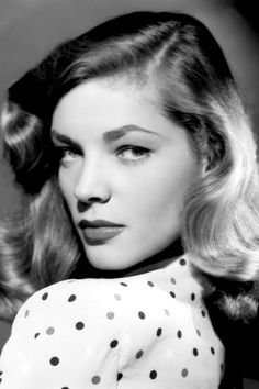 Eyebrows throughout the ages (Lauren Bacall, tho!)