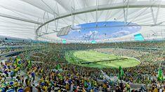 2014 World Cup Final Stage Stadium / Fernandes Arquitetos Associados,Courtesy of Fernandes Arquitetos Associados
