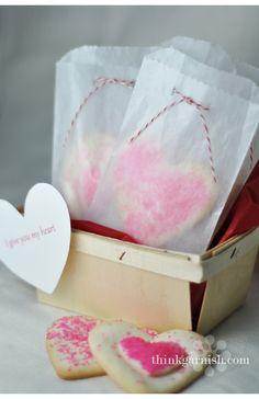 Glassine bag with twine
