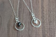 A personal favorite from my Etsy shop https://www.etsy.com/listing/493471933/infinity-necklace-infinity-heart