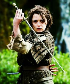 Game of Thrones season 4. Arya