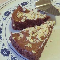 Cheesecake al doppio cioccolato