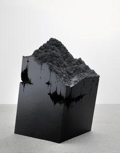 STEFANIE BUHLER, NACHTWANDERUNG 2009: wood, acrylic resin, oil.