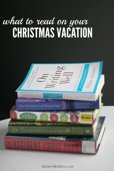 Great reads for your Christmas vacation