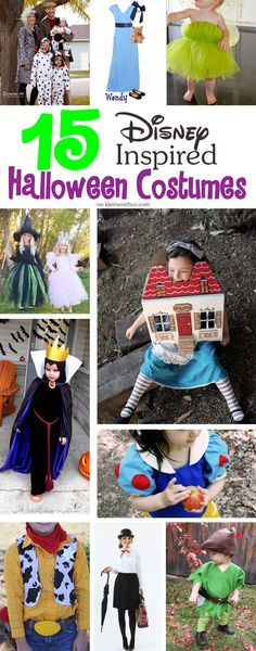If you & your family love Disney, these 15 Disney Inspired Halloween Costumes will make your day. These are the best DIY Disney inspired costumes around. Disney Halloween, Holidays Halloween, Halloween Diy, Halloween 2018, Vintage Halloween, Happy Halloween, Disney Family Costumes, Adult Costumes, Handmade Halloween Costumes