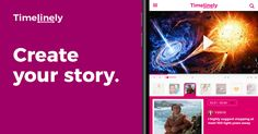 Create interactive video stories on Timelinely