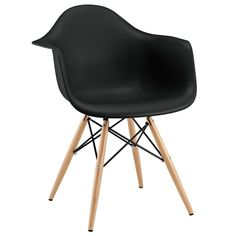 Pyramid Dining Armchair Black - Modway Furniture - $80.99 - domino.com