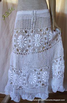 How to crochet beige jacket free tutorial pattern by - Crochet Koozie Tops A Crochet, Crochet Skirts, Crochet Tunic, Crochet For Boys, Crochet Clothes, Crochet Stitch, Crochet Lace, Crochet Humor, Crochet Woman