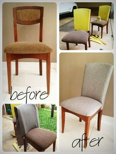 Eye-Opening Ideas: Modern Upholstery Fireplaces upholstery tips step by step.Upholstery Leather Armchairs upholstery headboard Proud Tips: Modern Upholstery Coffee Tables upholstery patchwork cushions.Upholstery Tutorial How To Make modern upho Reupholster Furniture, Furniture Upholstery, Upholstered Chairs, Upholstery Fabrics, Tuffed Ottoman, Upholstery Repair, Upholstery Tacks, Upholstery Cleaning, Chair Cushions