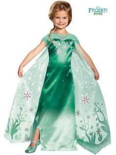 Frozen Fever - Elsa Costume