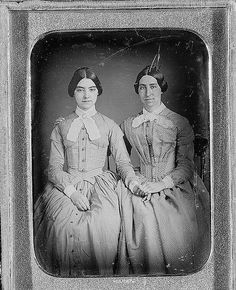 Holding hands, circa 1860  [from queer vintage flickr]