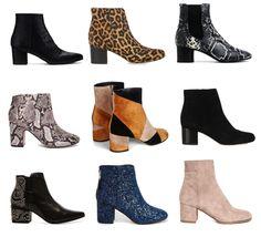 low-heeled block boo