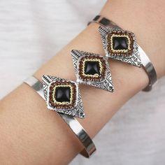 Bracelet Silver Square