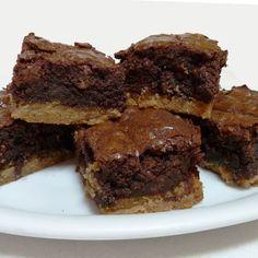 Toffee Bottomed Brownies Recipe | Key Ingredient