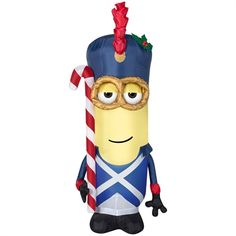 holiday living 351 ft internal light minion christmas inflatable outdoor christmas decorations light decorations