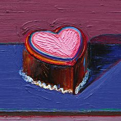 Read more about The Sweet Life of Wayne Thiebaud on @1stdibs | http://www.1stdibs.com/introspective-magazine/wayne-thiebaud-a-retrospective-at-acquavella-galleries/