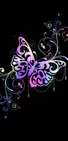 Bow Wallpaper, Phone Screen Wallpaper, Flower Phone Wallpaper, Butterfly Wallpaper, Locked Wallpaper, Cute Wallpaper Backgrounds, Pink Butterfly, Cellphone Wallpaper, Pretty Wallpapers