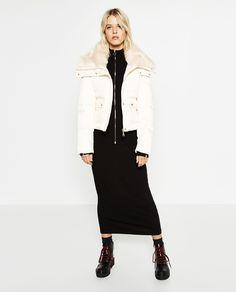 Image 1 of SHORT ANORAK from Zara