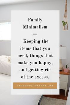 What is family minimalism to me and my family. When I first found out about minimalism I didn't see any minimalist families. Family minimalism is keeping th Business Motivational Quotes, Funny Inspirational Quotes, Business Quotes, Declutter Your Mind, Organize Your Life, What Is Family, Intuition Quotes, Becoming Minimalist, Cherish Quotes