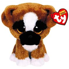 TY Beanie Boos - Brutus the Boxer Dog - just large