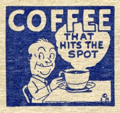 Vintage Coffee Poster   From Funny Technology on Google+ via Wyatt Martin