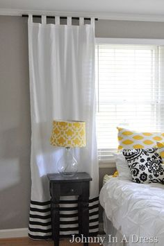 Our bedroom bedroom decor, cheap home decor и diy home decor. Short Curtains, Diy Curtains, Lengthen Curtains, Kitchen Curtains, Panel Curtains, Tiny House, Diy Home Decor Bedroom, Bedroom Ideas, Paint Colors For Home
