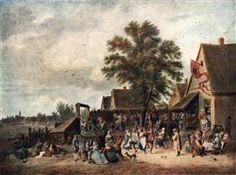 The Village Feast - David Teniers the Younger