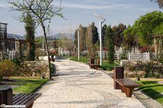 Espaço envolvente do Festival Internacional de Jardins de Ponte de Lima.